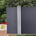 Senkrechte Seitenmarkise – z.B. 180x300cm inkl. Montagematerial für 44,09€ (statt 64€)
