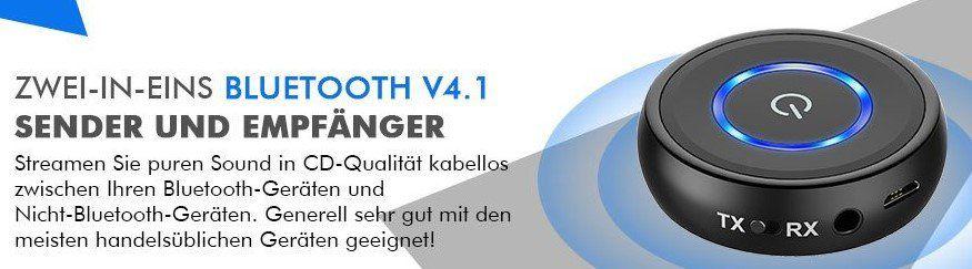 HiGoing HB15   Bluetooth 4.1 Transmitter für 17,93€ (statt 26€)