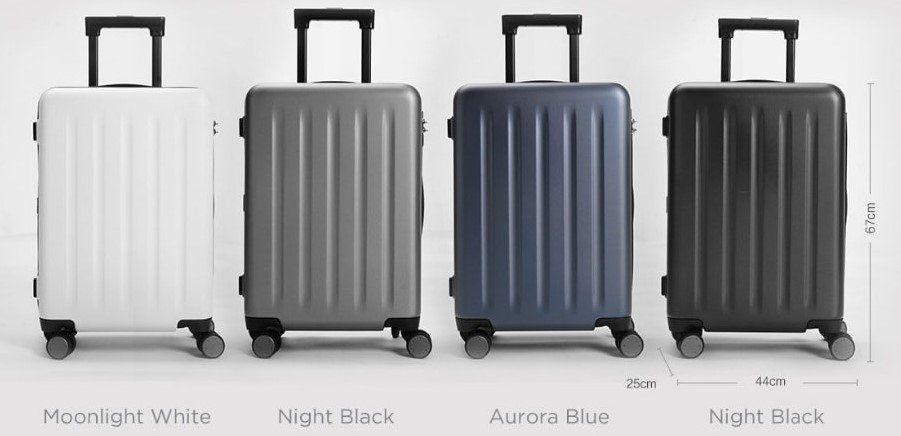 Xiaomi 90FUN Suitcase für 164,36€ (statt 190€)