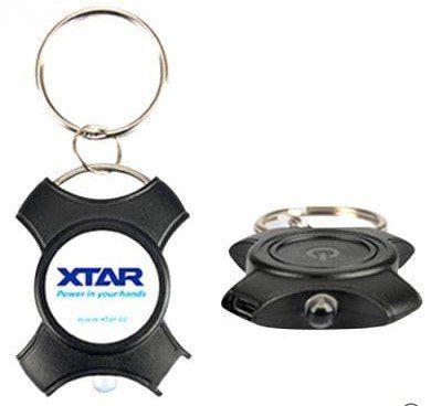XTAR X   Kleine LED Taschenlampe als Schlüsselanhänger für 2,59€