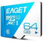 EAGET T1 – Class 10 TF Card mit 64GB für 6,45€