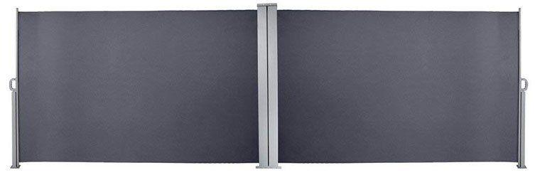 Senkrechte Seitenmarkise 180x600cm inkl. Montagematerial für 69,29€ (statt 99€)