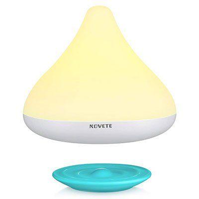 Novete Cynthy   Nachttlichlampe mit 3 Stufen für 9,99€ (statt 26€)