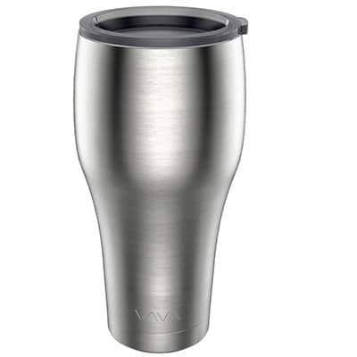 Thermobecher aus Edelstahl (880ml) für kalte & warme Getränke für 9,99€ (statt 13€)