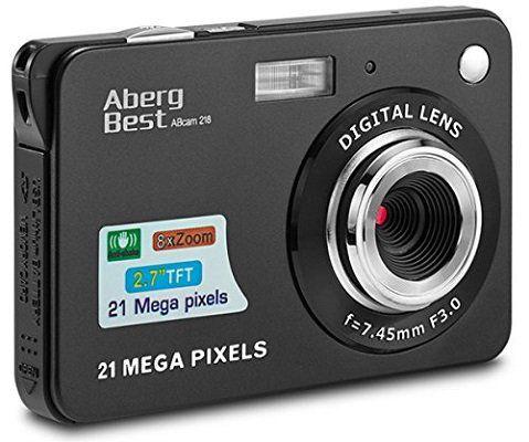 Vorbei! Aberg Best 21 Megapixelkamera für 23,99€ (statt 40€)