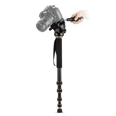 Beaspire Kamera Einbeinstativ (Q188C) mit Panoramakopf für 17,49€ (statt 35€)