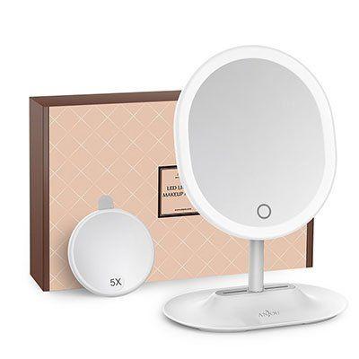 Kosmetikspiegel mit LEDs (dimmbar) für 15,99€ (statt 22€)