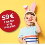 A&O Oster Special Hotel Gutschein 2 Personen (+2 Kinder) 2 Nächte in 36 Hotels europaweit  für nur 59€