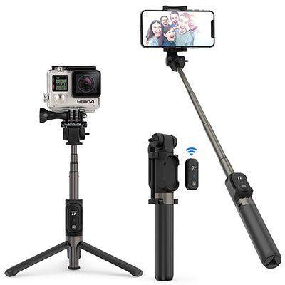 TaoTronics TT ST002   SelfieStick mit ActionCam Halter für 14,99€ (statt 22€)