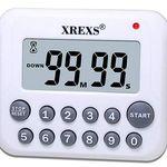 XREXS DC-12 – Küchen-Timer mit LCD Display für 5,77€ (statt 12€)