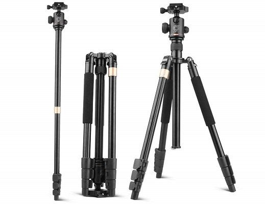 Beaspire Kamerastativ B999B mit Kugelkopf (44 158 cm) für 17,49€ (statt 35€)