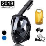 Schnorchelmaske mit wasserdichter Tasche und GoPro-Halterung für 27,99€ (statt 40€)