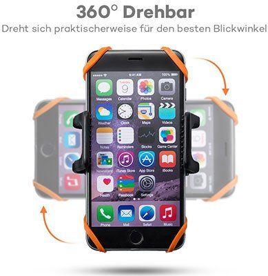 TaoTronics TT SH013   Fahrradhalterung für das Handy für 5,99€ (statt 8€)   Prime