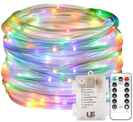 Lighting EVER   10 Meter RGB LED Schlauch mit 120 LEDs für 9,99€ (statt 14€)
