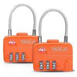Tacklife HCL1A – Gepäckschloss, Vorhängeschloss mit 3 Zahlenstellen im Doppelpack für 4,99€ (statt 11€) – Prime