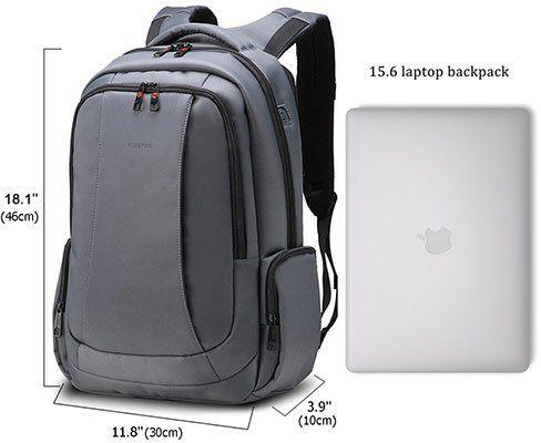 Fubevod   Laptoprucksack mit gepolsterten Innentaschen für 26,06€ (statt 43€)
