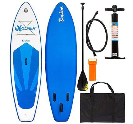 Bis Mitternacht: Explorer Stand Up Paddle Set SUNSHINE (305 x 81 x 12 cm) für 349€ (statt 398€)