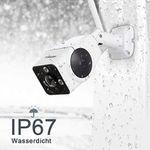 FREDI VR901 Außenkamera mit Weitwinkel & 360° für 35,99€ (statt 60€)