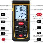 Tacklife A-LDM01 – Laser-Entfernungsmesser (40m) für 23,99€ (statt 32€)
