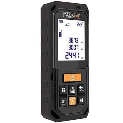 Tacklife S2 40 Laser Entfernungsmesser mit Multifunktion inkl. Winkelmessung für 17,99€ (statt 28€)