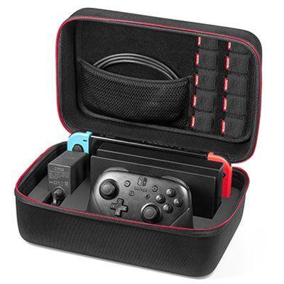 Nintendo Switch Hartschalentasche mit viel Platz für 16,99€ (statt 29€)
