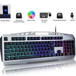 FLAGPOWER Gaming Tastatur & Maus im Bundle mit LED-Beleuchtung für 12€ (statt 30€)