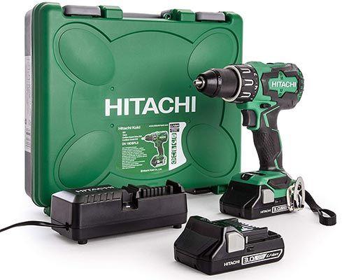 Hitachi DV18DBFL2 / JM   18 Volt Akku Schlagbohrschrauber mit 2 Akkus für 175,90€ (statt 221€)