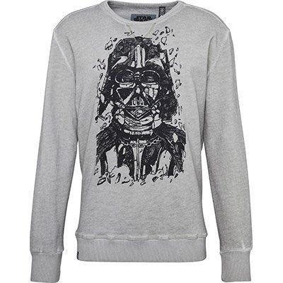 GONZO Sweatshirt Star Wars   Darth Vader Pencraft für 17,01€ (statt 46€)