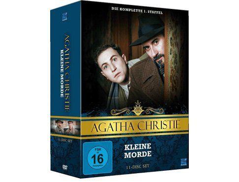 Agatha Christie   Kleine Morde 1. Staffel auf 11 DVDs für 55€ (statt 82€)