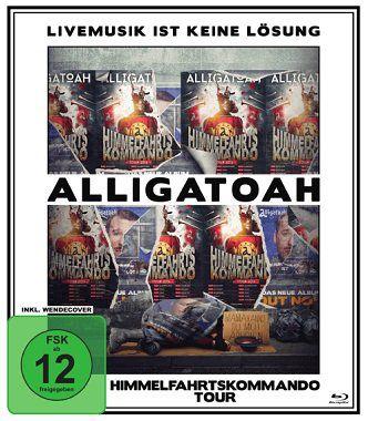 Alligatoah   Livemusik Ist Keine Lösung Himmelfahrtskommando auf Blu ray für 5€ (statt 20€)