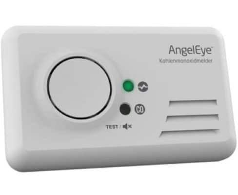 AngelEye Kohlenmonoxid (CO) Alarm Melder 85dB für 17,99€