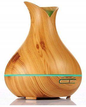 KBAYBO Aroma Diffusor in heller Holzoptik für 17,04€ (statt 31€)