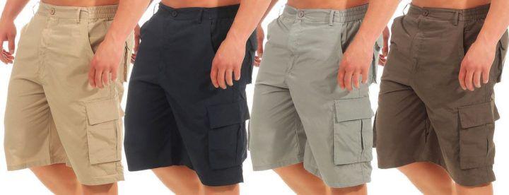 Azuonda AZ55   Herren Cargo Shorts bis 3XL für je 12,90€
