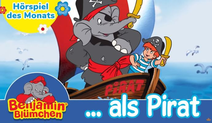 Benjamin Blümchen: als Pirat (Folge 41, Hörspiel) kostenlos