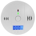 Kohlenmonoxid-Melder mit 85 dB Alarm für 16,99€