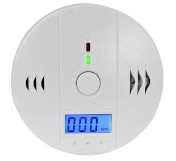 Kohlenmonoxid Melder mit 85 dB Alarm für 16,99€