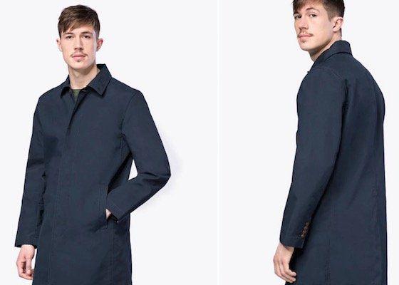 GAP Herren Mantel Clean MAC für 26,91€ (statt 78€)