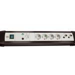 Brennenstuhl Premium-Line Steckdosenleiste TV+HiFi 30.000A mit Überspannungsschutz für 19,99€ (statt 26€)