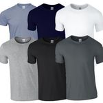 8er Set GILDAN T-Shirts für 21,77€