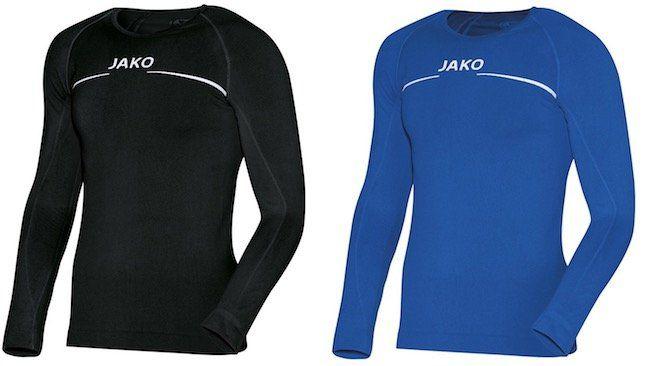 Jako Longsleeve Langarm Fitness Funktionsshirts für je 8,99€ zzgl. VSK (statt 13€)