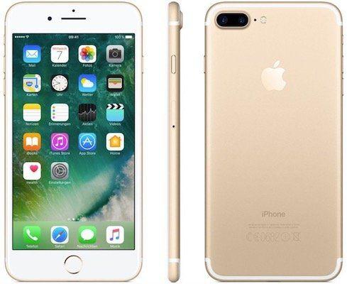 Apple iPhone 7 Plus mit 256GB in Gold für 369,90€ (statt neu 653€)   gebrauchte Ware