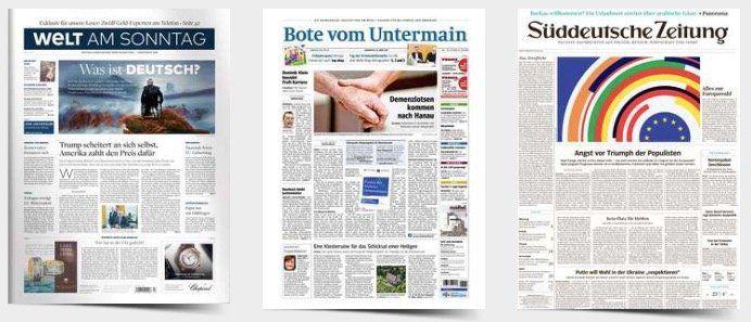 14 Tage Tageszeitung komplett gratis lesen