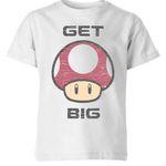 Nintendo Super Mario Get Big Mushroom T-Shirt für 10,99€ (statt 30€)