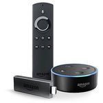 Fire TV Stick mit Alexa-Sprachfernbedienung + Echo Dot für 59,98€ (statt 80€)