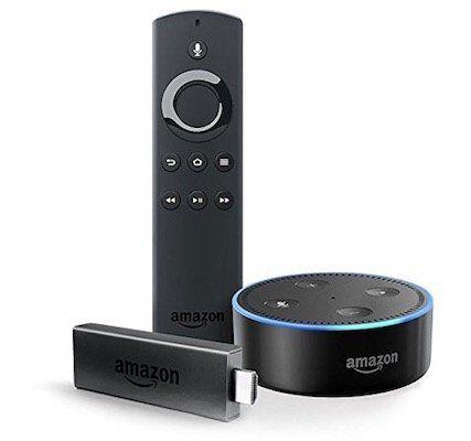 Fire TV Stick mit Alexa Sprachfernbedienung + Echo Dot für 59,98€ (statt 80€)