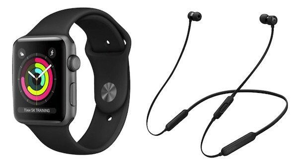Apple Watch Series 3 (GPS) 42mm + Beats X Kopfhörer für 399€ (statt 476€)