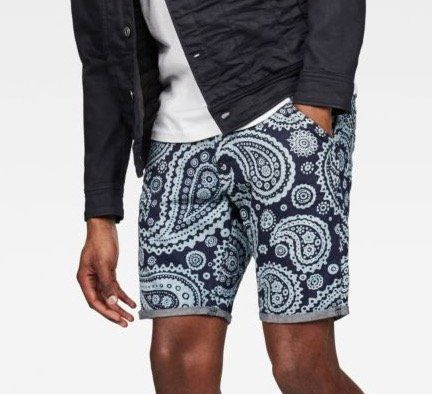 G Star Elwood X25 3D Tapered Herren Shorts für 39,95€ (statt 50€)