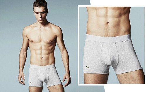 Lacoste Unterwäsche, Hosen und Shirts bei vente privee   z.B. Boxershort für 9€