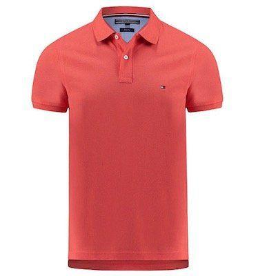 Tommy Hilfiger Herren Poloshirt Heritage Tipped in Slim Fit für 49,90€(statt 60€)
