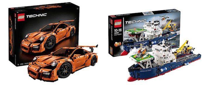 13 Marken mit 13% Rabatt bei myToys   z.B. Lego Technic 42056 Porsche GT3 RS für 199,56€ (statt 219€)